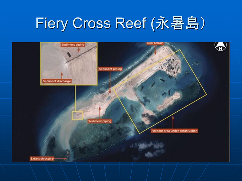 Fiery Cross Reef 永暑島