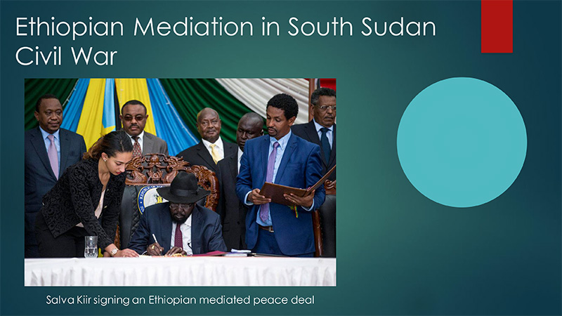 Ethiopian Mediation in South Sudan Civil War
