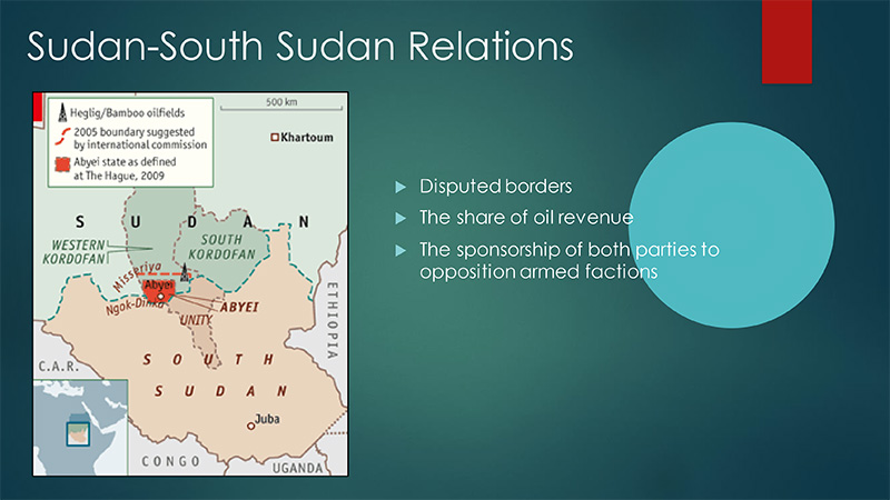 Sudan-South Sudan Relations